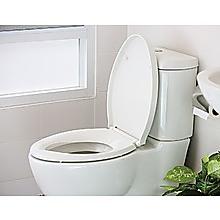Quick Release Soft Close Toilet Seat White Bathroom Heavy Duty