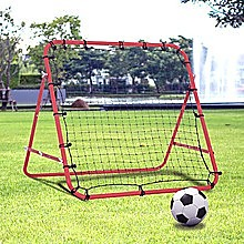 Soccer Rebound Net Sports Trainer Rebounder Football Game Practice Training Goal