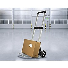 150KG Portable Cart Folding Dolly Push Truck Hand Collapsible Luggage Trolley