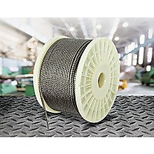 50M 316 Marine Stainless Steel Wire Rope Cable Decking Balustrade Rigging 7x19 4mm