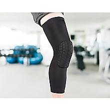 Knee Sleeve Guard Support Brace Sport Compression Calf Running