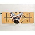 Natural Cork TPE Yoga Mat Sports Eco Friendly Exercise Fitness Gym Pilates