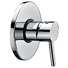 Chrome Bathroom Shower Wall Mixer w/ WaterMark