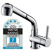 Kitchen Basin Mixer Tap Faucet w/Extendable Spray -Laundry