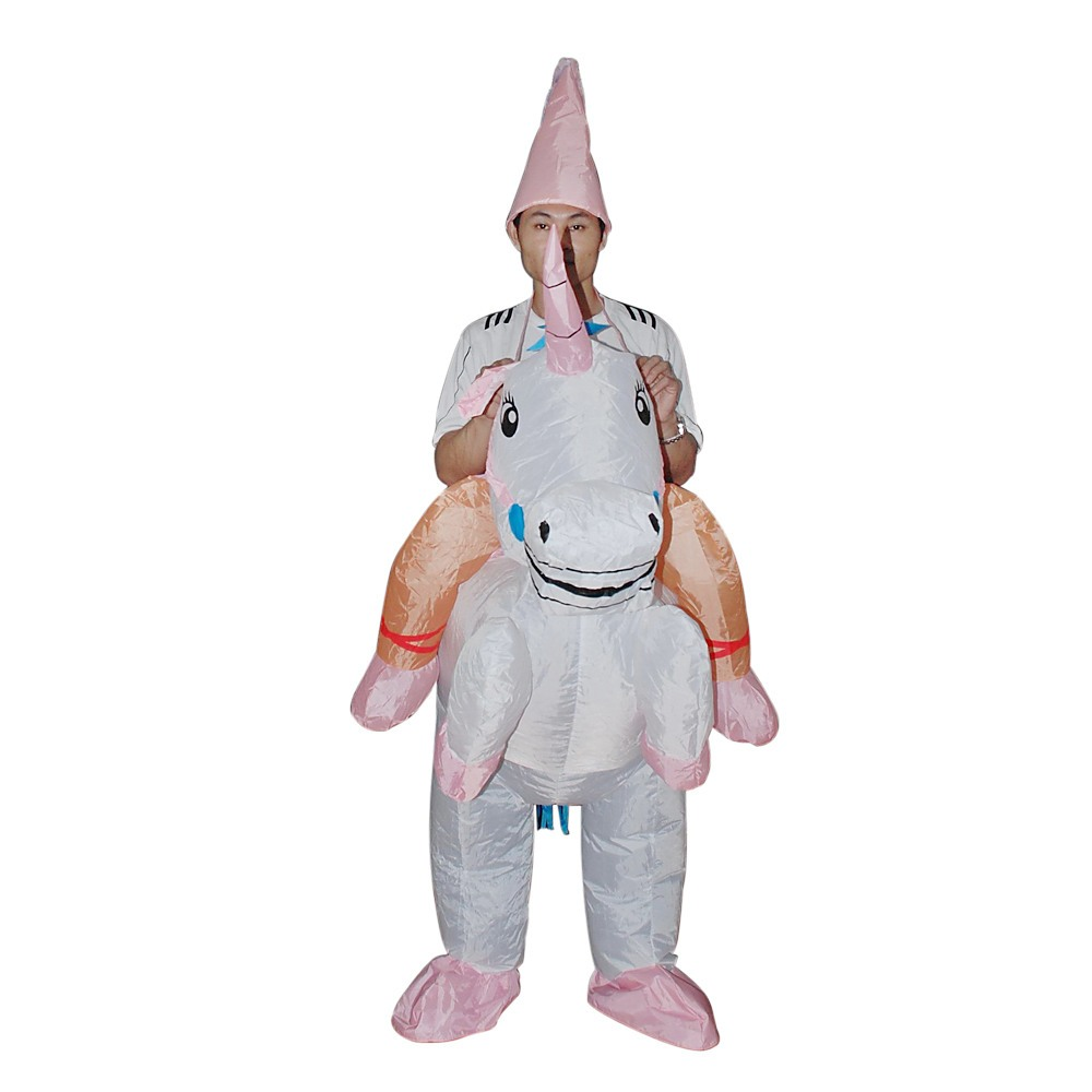Various Design Fancy Dress Inflatable Suit Fan Operated