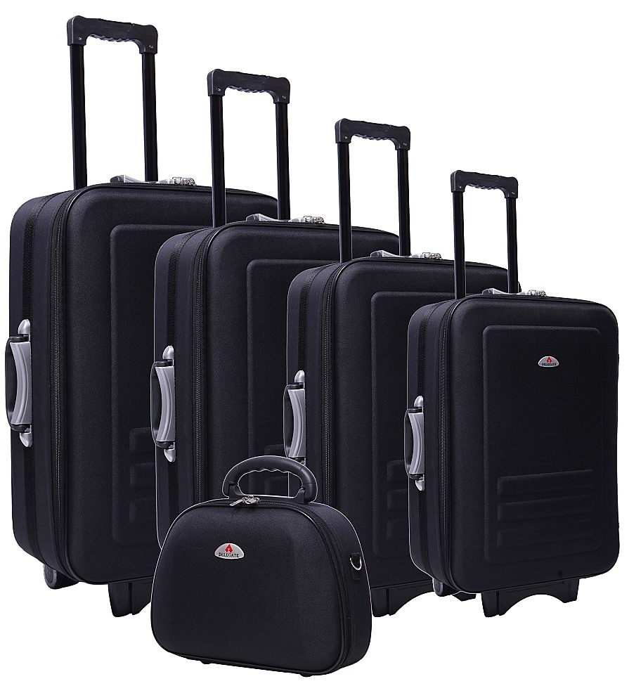 Black 5pc Luggage Set
