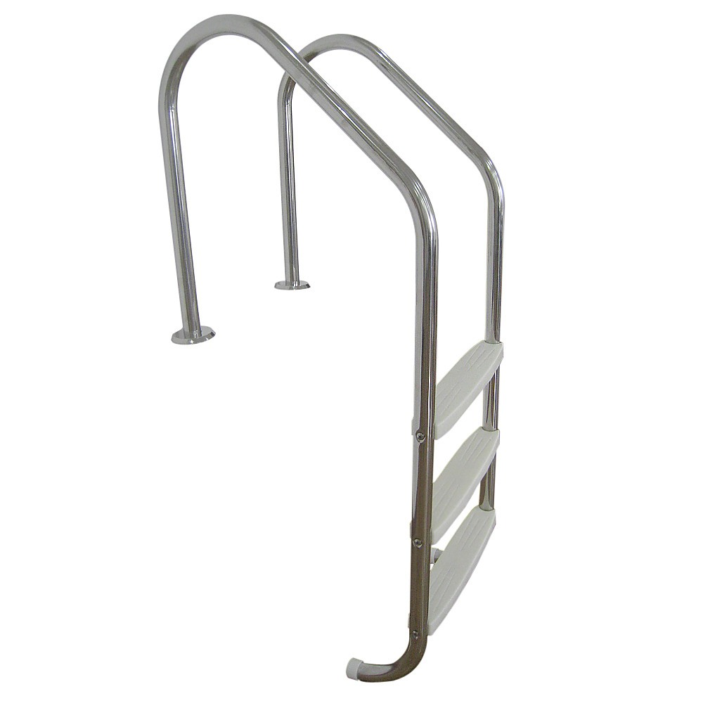 3 Step Stainless Steel In Ground Swimming Pool Ladder Outdoor Leisure Swimming Pool Goods