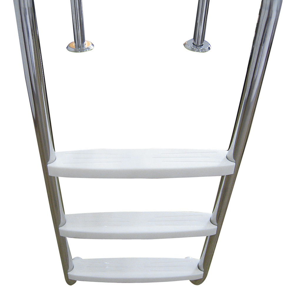 3 step stainless steel in ground swimming pool ladder for Pool ladder