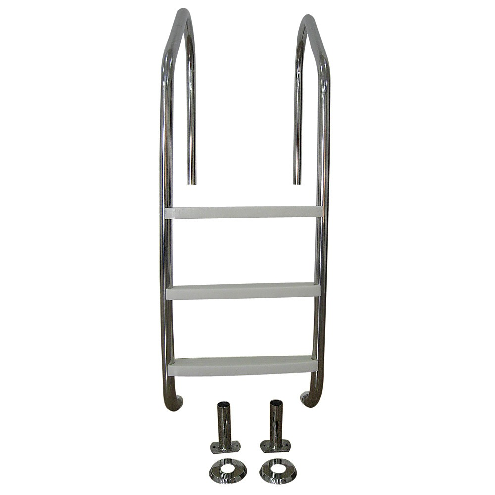 3 Step Stainless Steel In Ground Swimming Pool Ladder