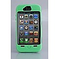 Green Heavy Duty Case Cover For Apple iPhone 4 4G