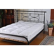 100% White Goose Feather Mattress Topper - King