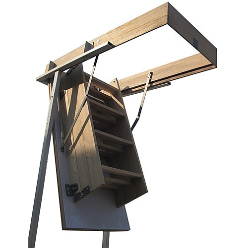 Ash Hardwood Attic Loft Ladder Power Tools Amp Outdoors
