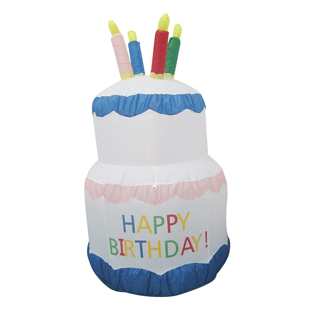 180cm Happy Birthday Inflatable Cake Toys Gt Games