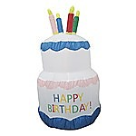 180cm Happy Birthday Inflatable Cake