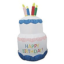 180cm Happy Birthday Inflatable Cake