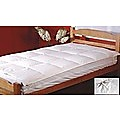 100% White Goose Feather Mattress Topper - Single