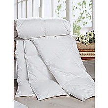 100% White Goose Feather Duvet / Doona /Quilt-Single