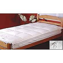 100% White Duck Feather Mattress Topper - Single