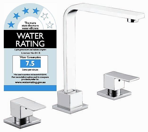 3pc Basin Tap Faucet Set