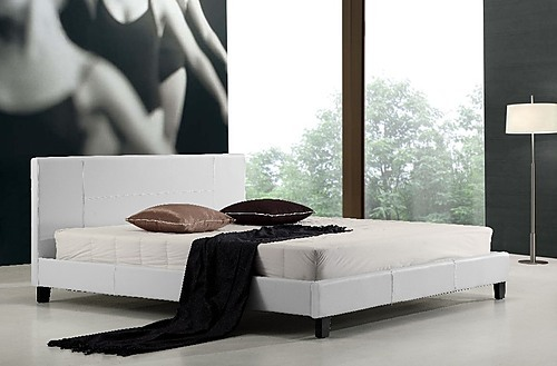 Leather Bed Frame King King pu Leather Bed Frame