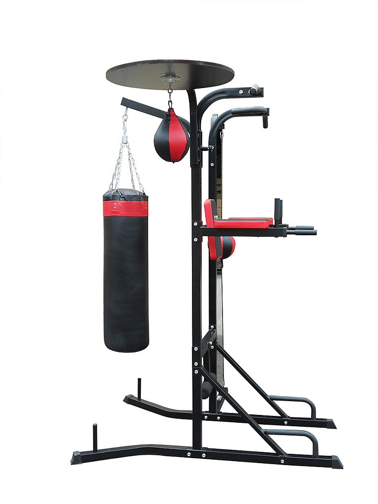 Power boxing station stand gym speed ball punching bag all for Stand pub
