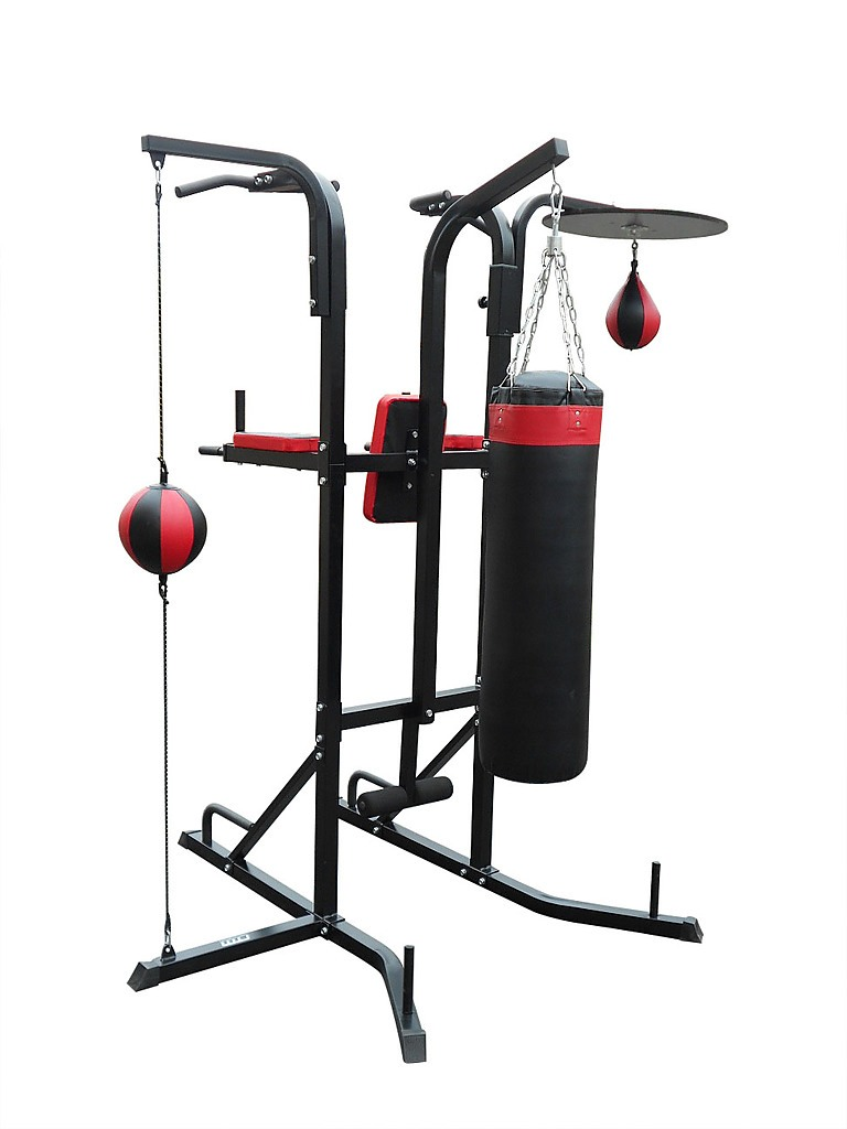 Power Boxing Station Stand Gym Speed Ball Punching Bag All