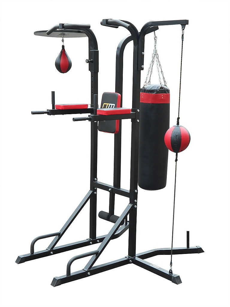 power boxing station stand gym speed ball punching bag all. Black Bedroom Furniture Sets. Home Design Ideas