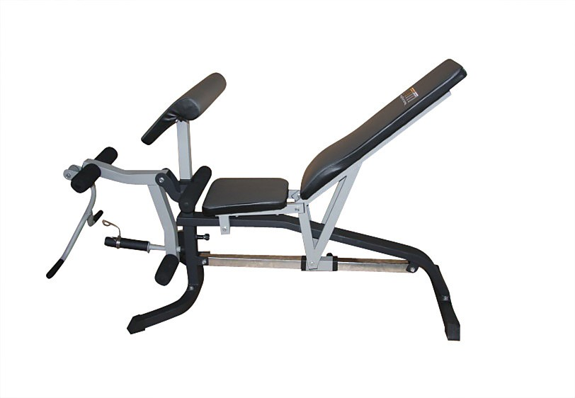 Fid Flat Incline Decline Bench Press W Leg Extension