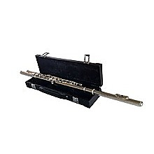 Woodstock Flute Key C Silver-Plated with Case