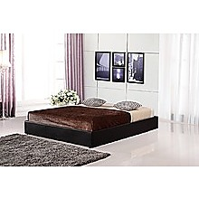 PU Leather Queen Bed Ensemble Frame