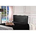 Double Black PU Leather Bed Headboard Bedhead