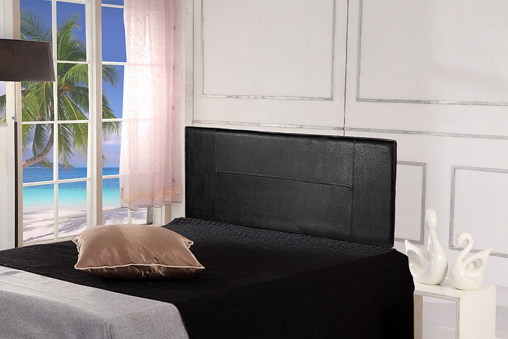 queen black pu leather bed headboard rh factoryfast com au