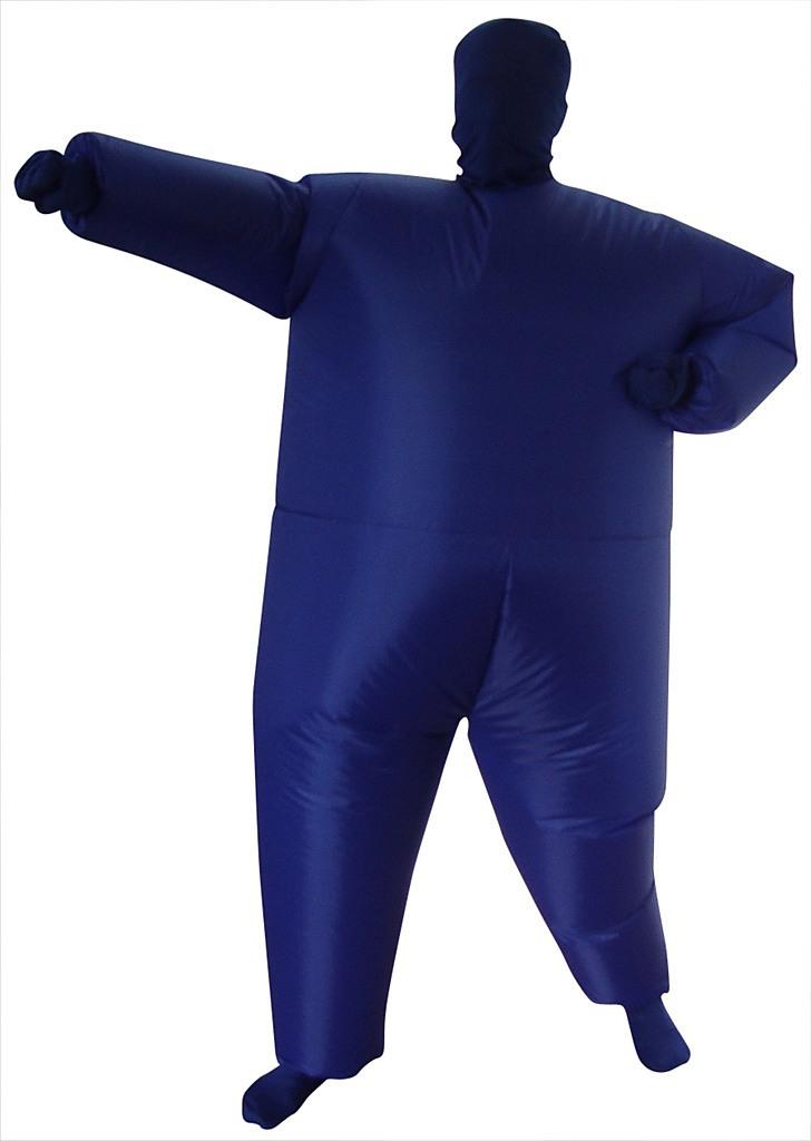 Feeling Blue Inflatable Costume Fancy Dress Suit Fan