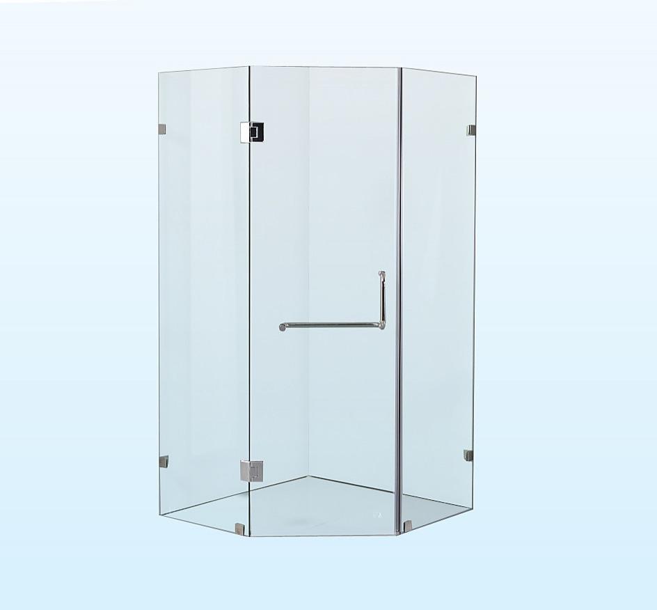 della francesca frameless shower screen 900 x 900mm rh factoryfast com au