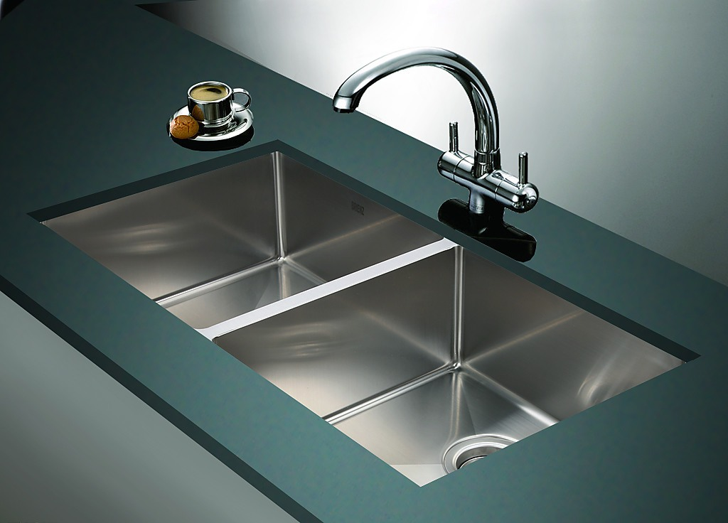 top rated stainless steel kitchen sinks 865x440mm handmade stainless steel undermount topmount 9493