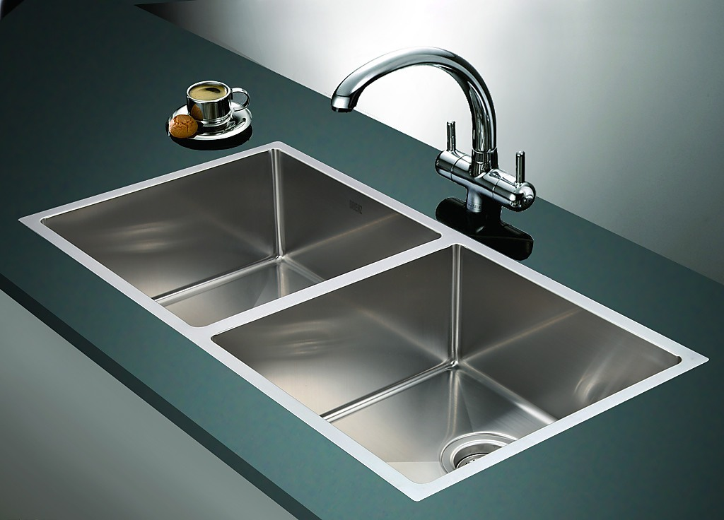 stainless kitchen sinks undermount 865x440mm handmade stainless steel undermount topmount 5712