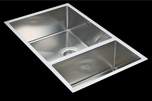 kitchen sinks au stainless steel kitchen sink with waste 715x440mm 2979