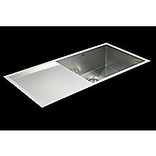 960x450mm Stainless Steel Single Bowl Sink with Round Waste