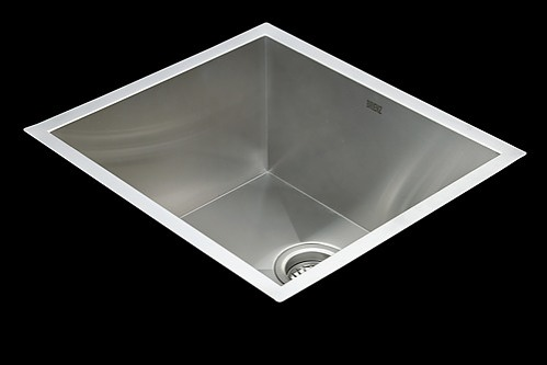 Stainless Steel Undermount Laundry Sink : ... Stainless Steel Undermount / Topmount Kitchen Laundry Sink with Waste