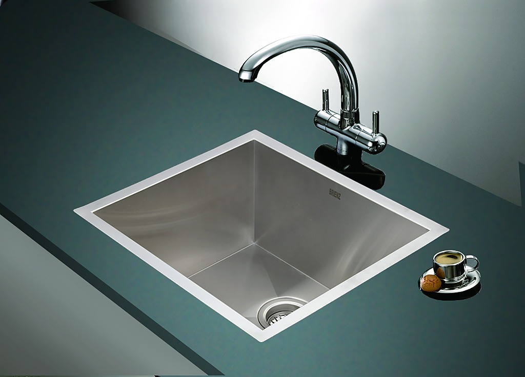 stainless kitchen sinks undermount 510x450mm handmade stainless steel undermount topmount 5712