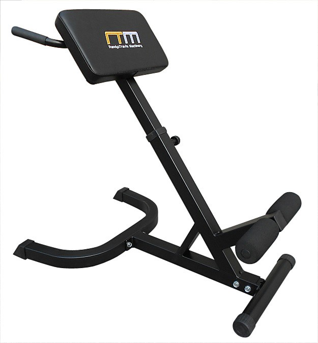 45-Degree Hyperextension Bench Gym Workout Fitness Inclined