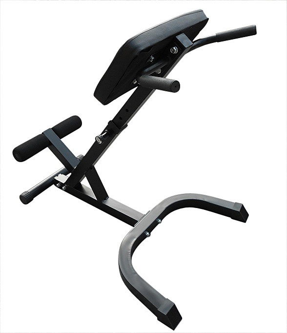 45 Degree Hyperextension Bench Gym Workout Fitness Inclined