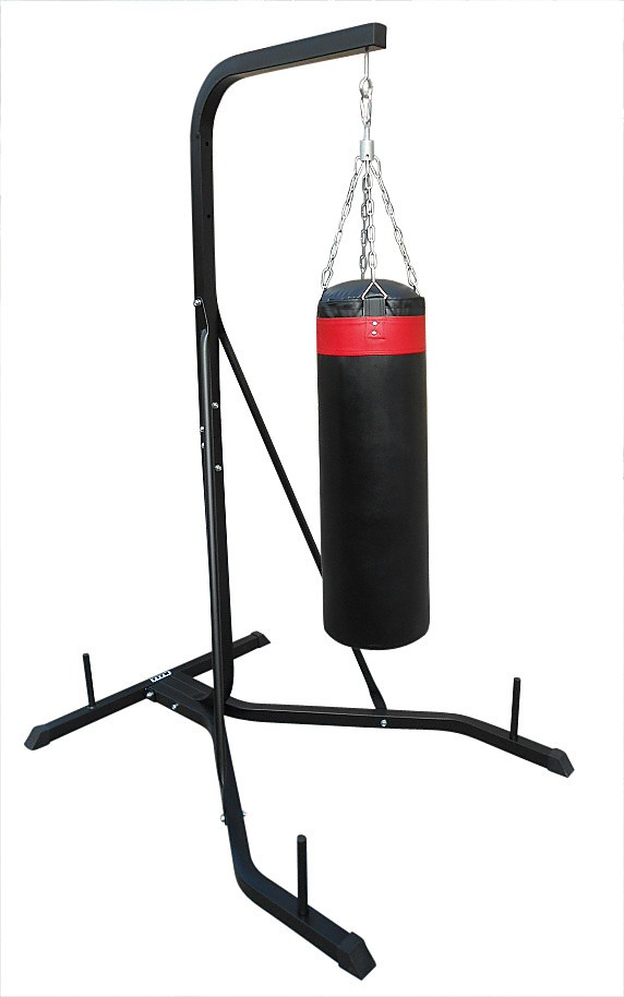 Freestanding 37kg Punching Bag Filled Heavy Duty Steel Stand
