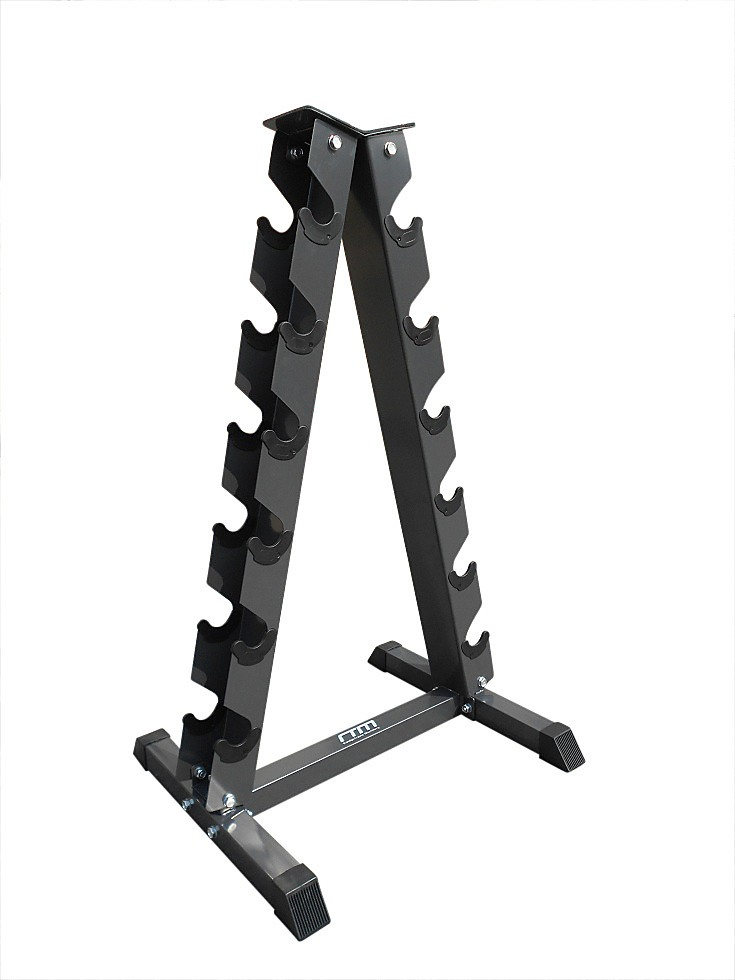 Steel Vertical Dumbbell Rack Weight Stand Gym Home Workout