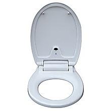 Automatic Toilet Seat Sensor Operated White & Round