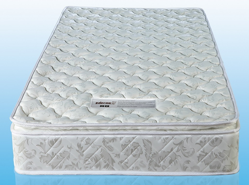The Palermo Single Luxury Latex Pillow Topper Spring Mattress