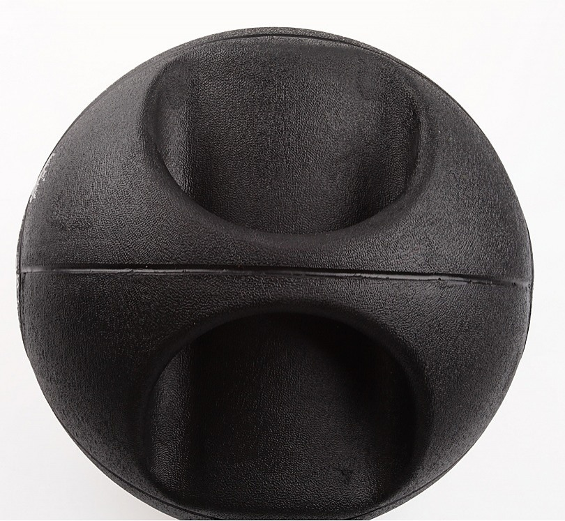 10kg Double Handled Rubber Medicine Core Ball