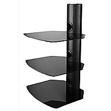 3 Shelf Wall Mount Bracket for DVD Receiver STB