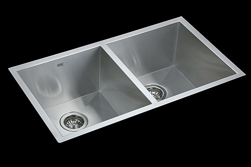 ... Stainless Steel Undermount / Topmount Kitchen Laundry Sink with Waste