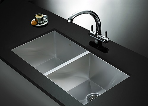 Stainless Steel Kitchen Sink With Waste 820x457mm